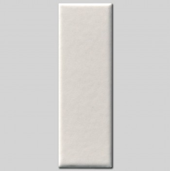 WHITE STRIP TILE (SMALL) MAT M005 cm 3,3x10